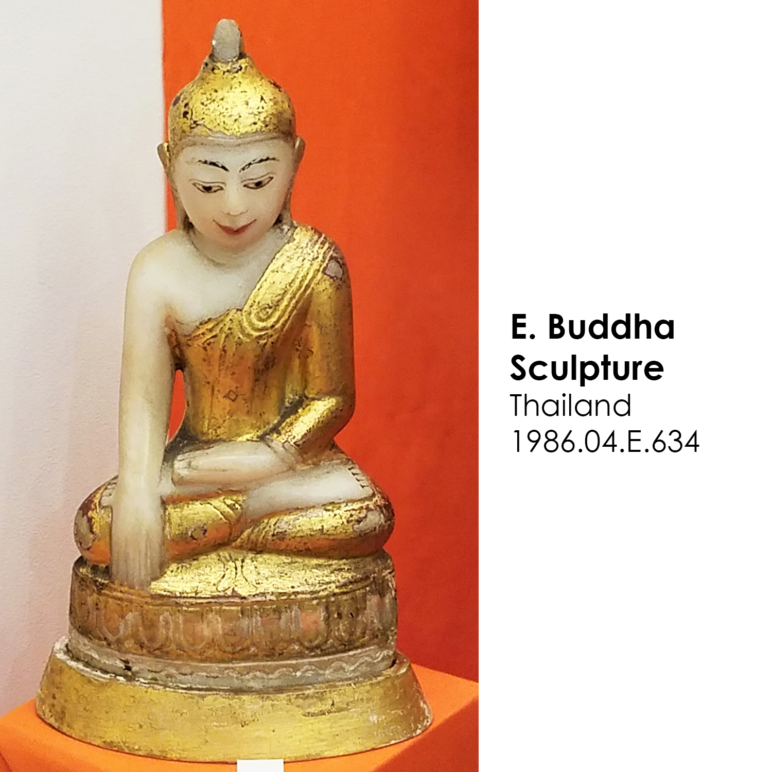 Buddhist sculpture from Thailand