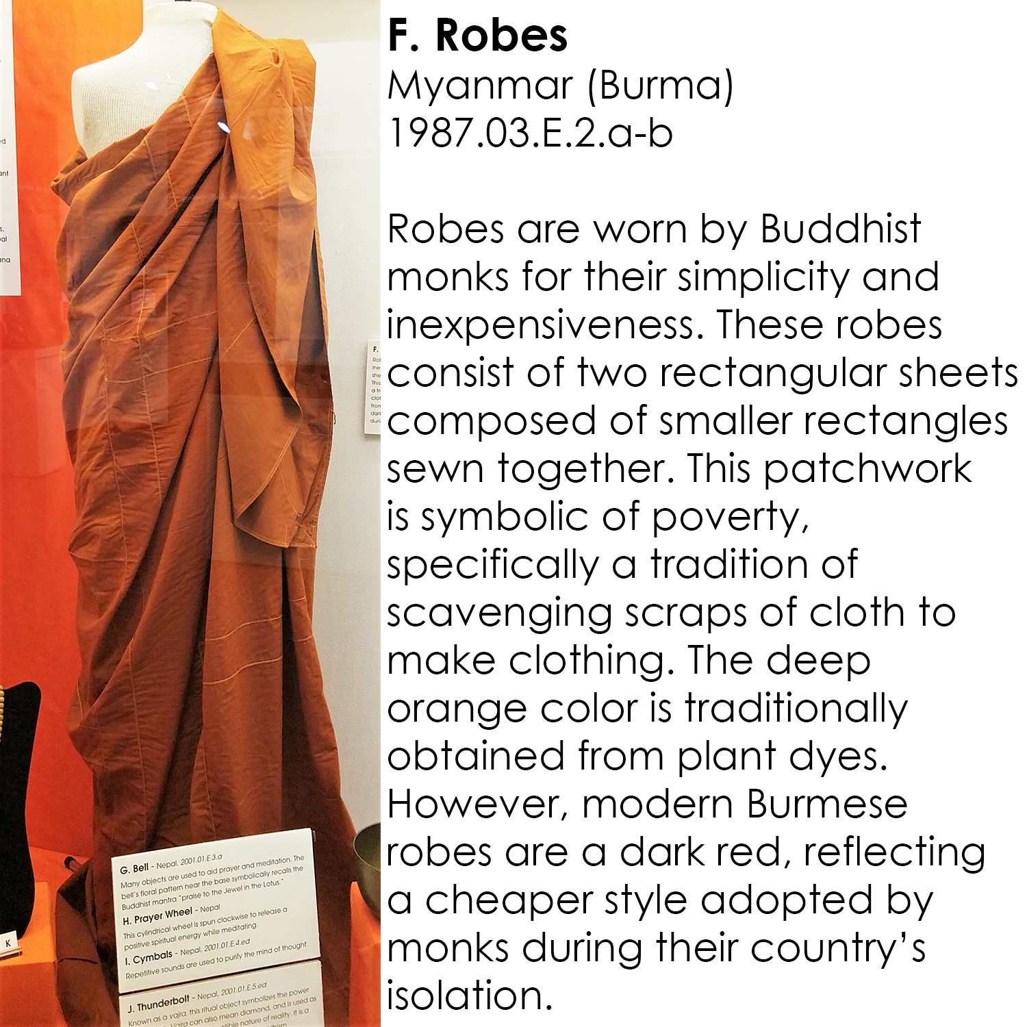 Buddhist Robes from Myanmar (Burma)