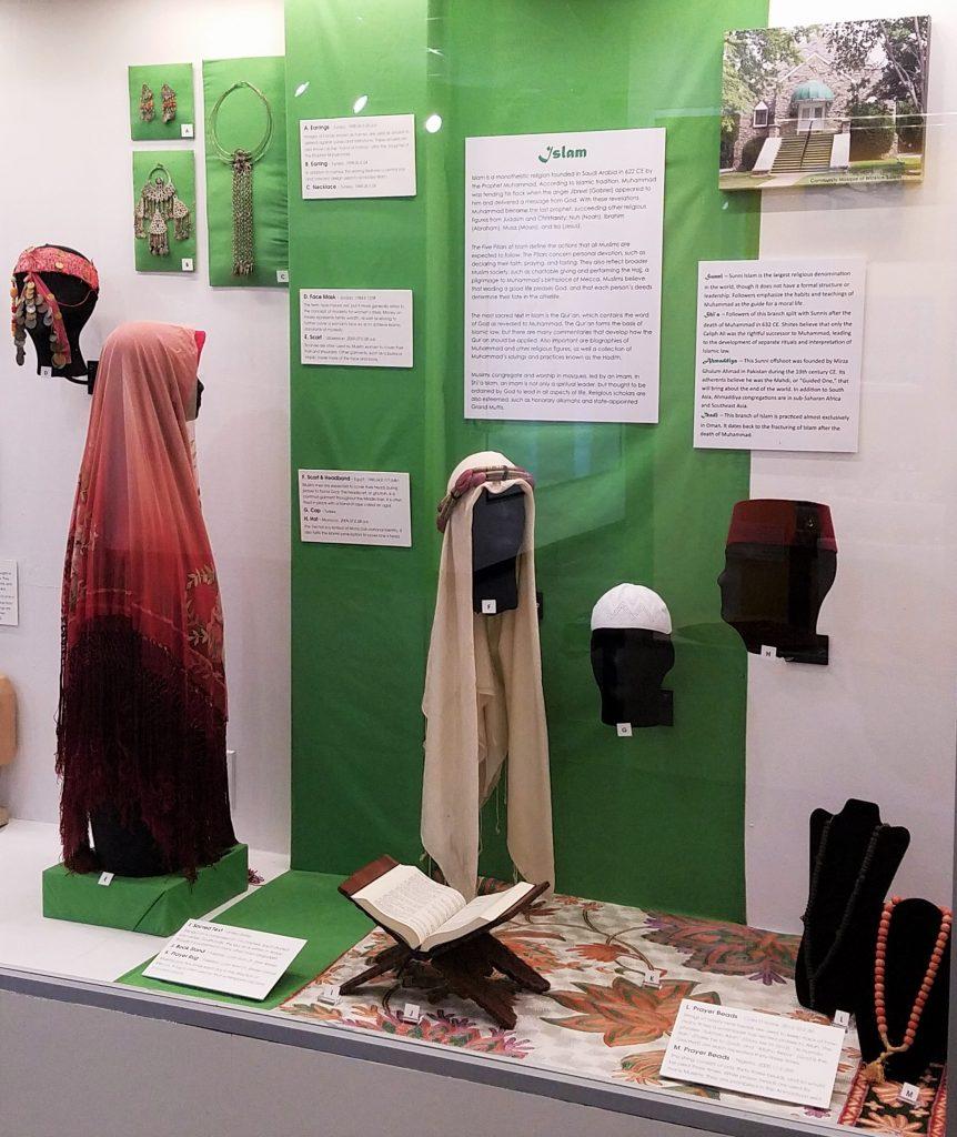 Islam Section of MOA Faith exhibit
