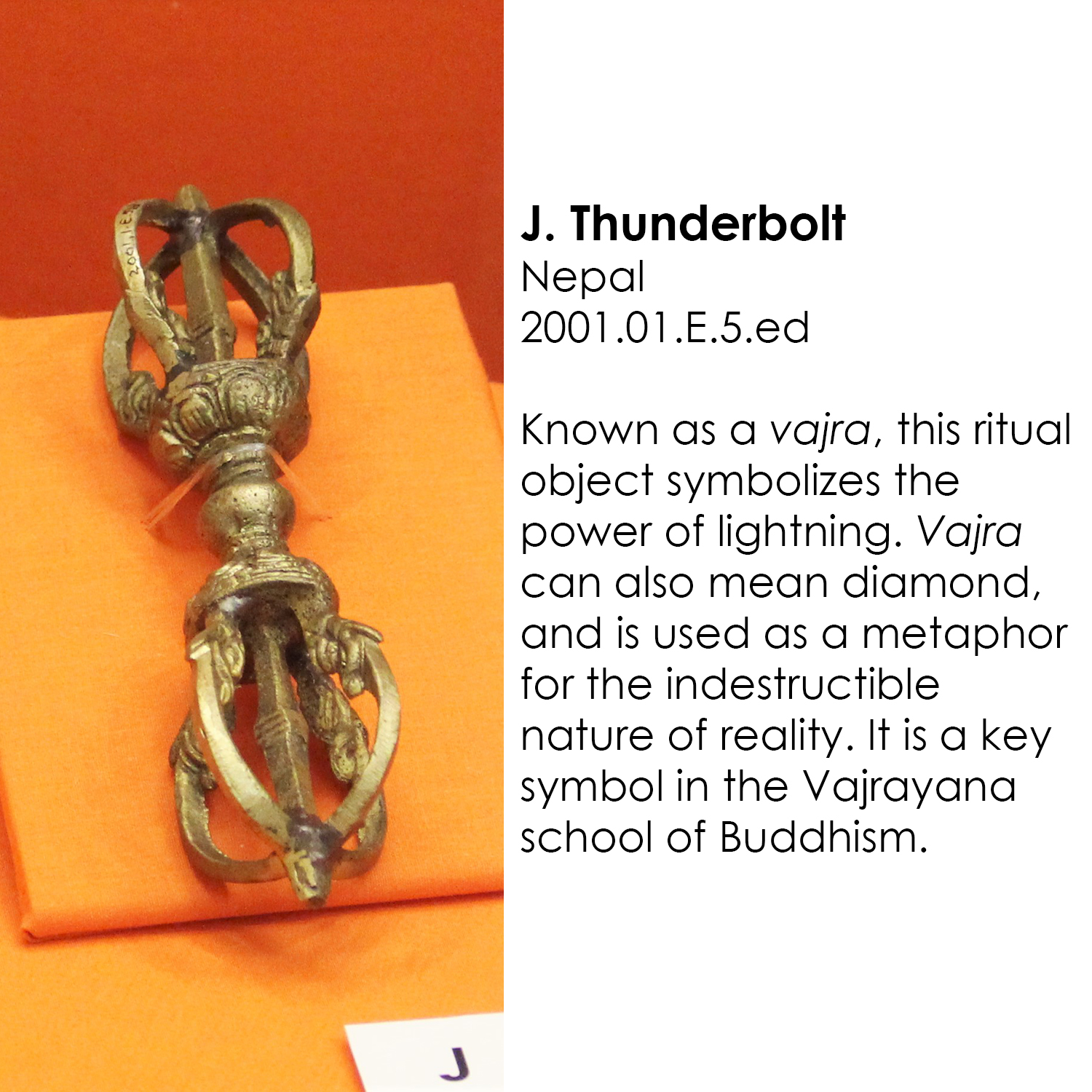 Buddhist Thunderbolt from Nepal