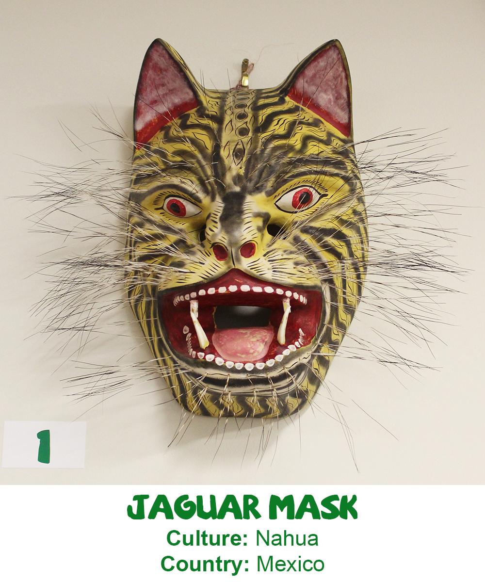 Nahua Jaguar Mask