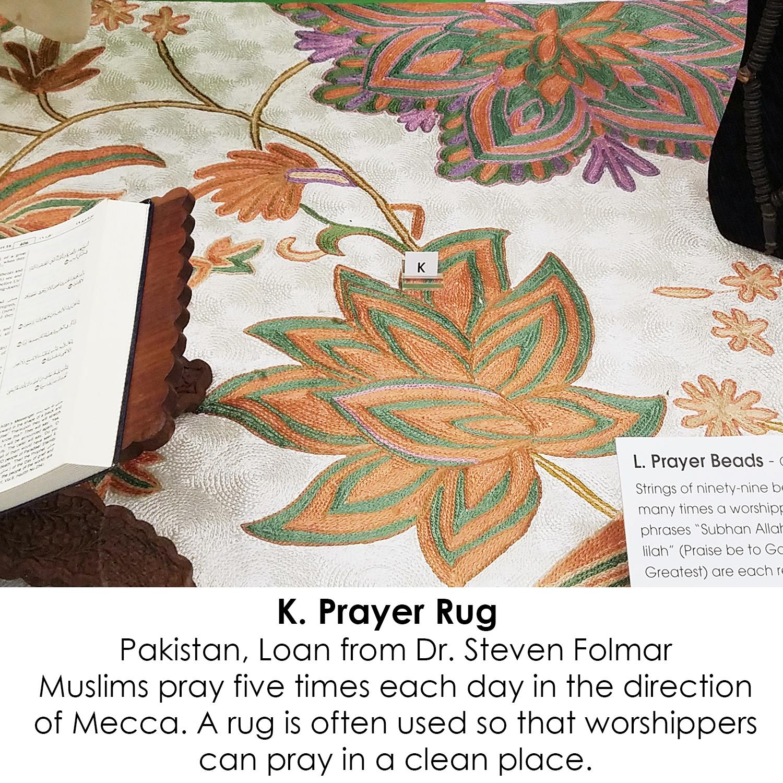Prayer Rug from Pakistan