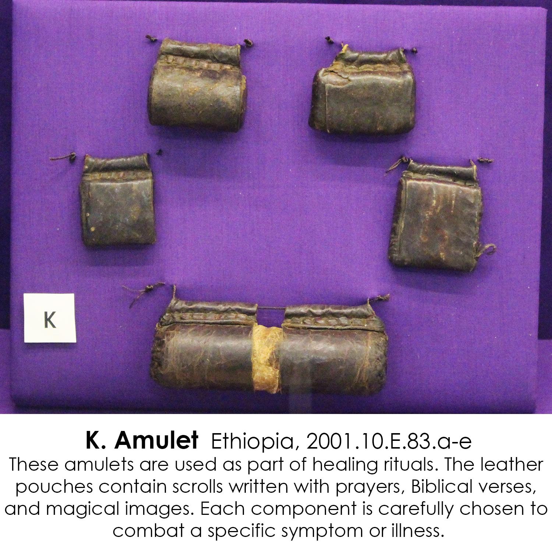 Ethiopian Amulets