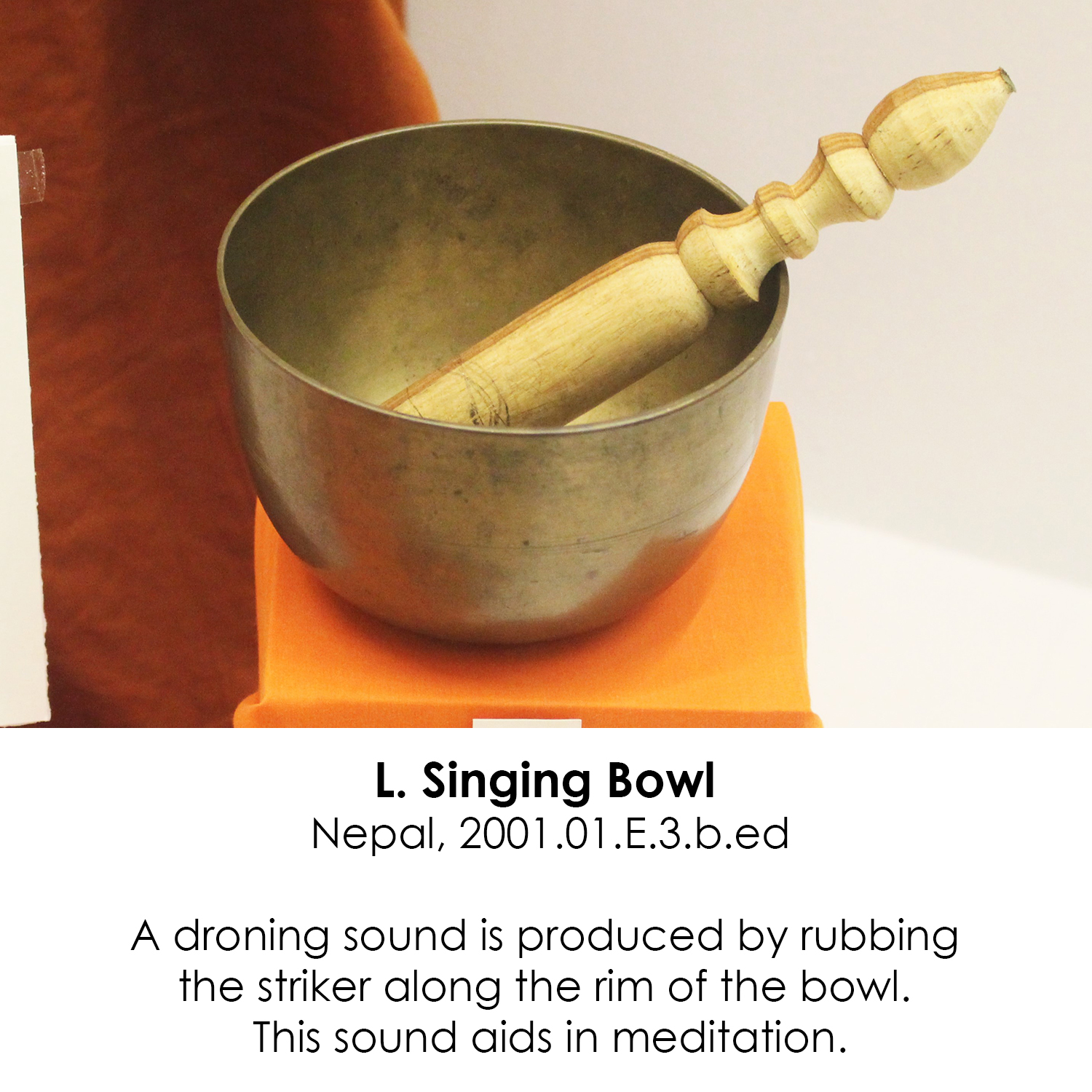 Buddhist Singing Bowl from Nepal