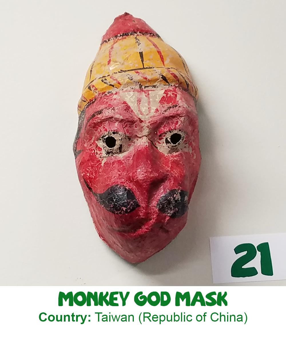 Monkey God Mask
