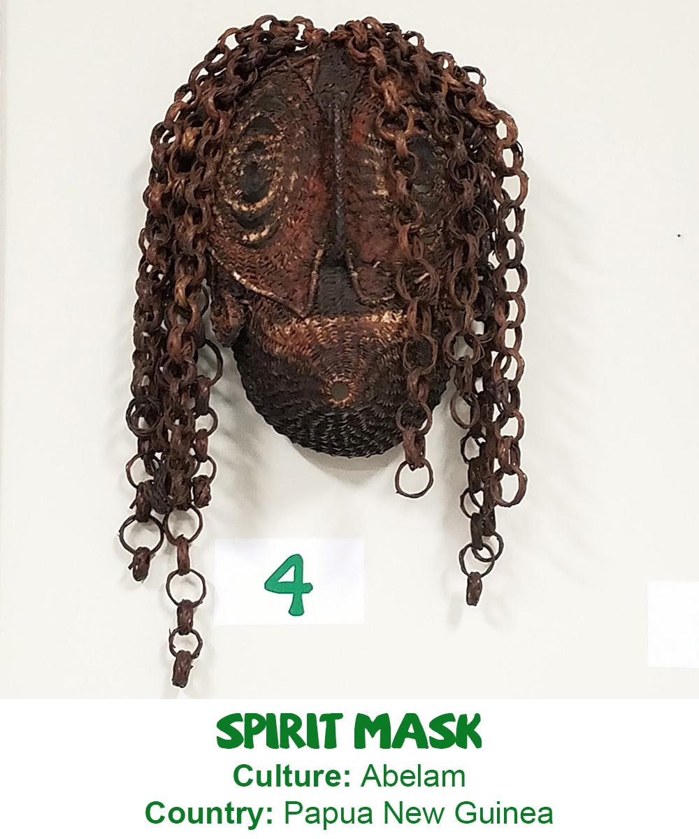 Papua New Guinea Spirit Mask