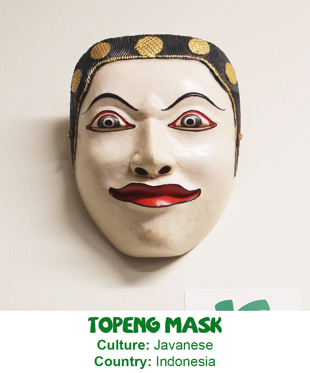 Javanese Topeng Mask