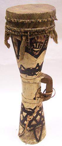 Papua New Guinea kundu drum