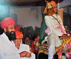 Rajasthani baarat procession
