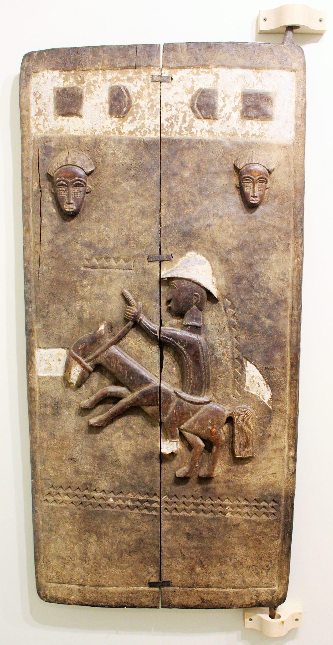 Baule Wooden Door