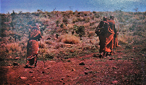 Maasai bride journeys to groom's house
