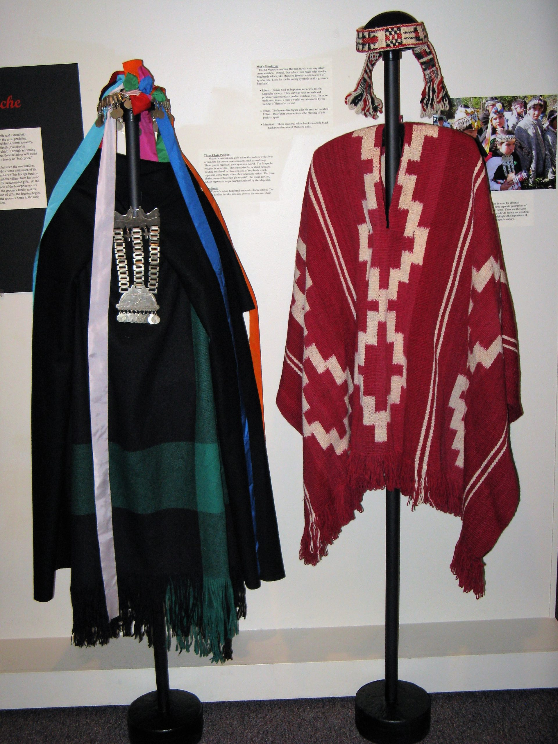 Mapuche wedding outfits