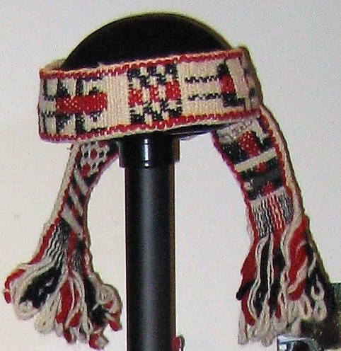Mapuche men's headdress