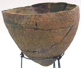 Archaeological remains of traditional southeastern pottery