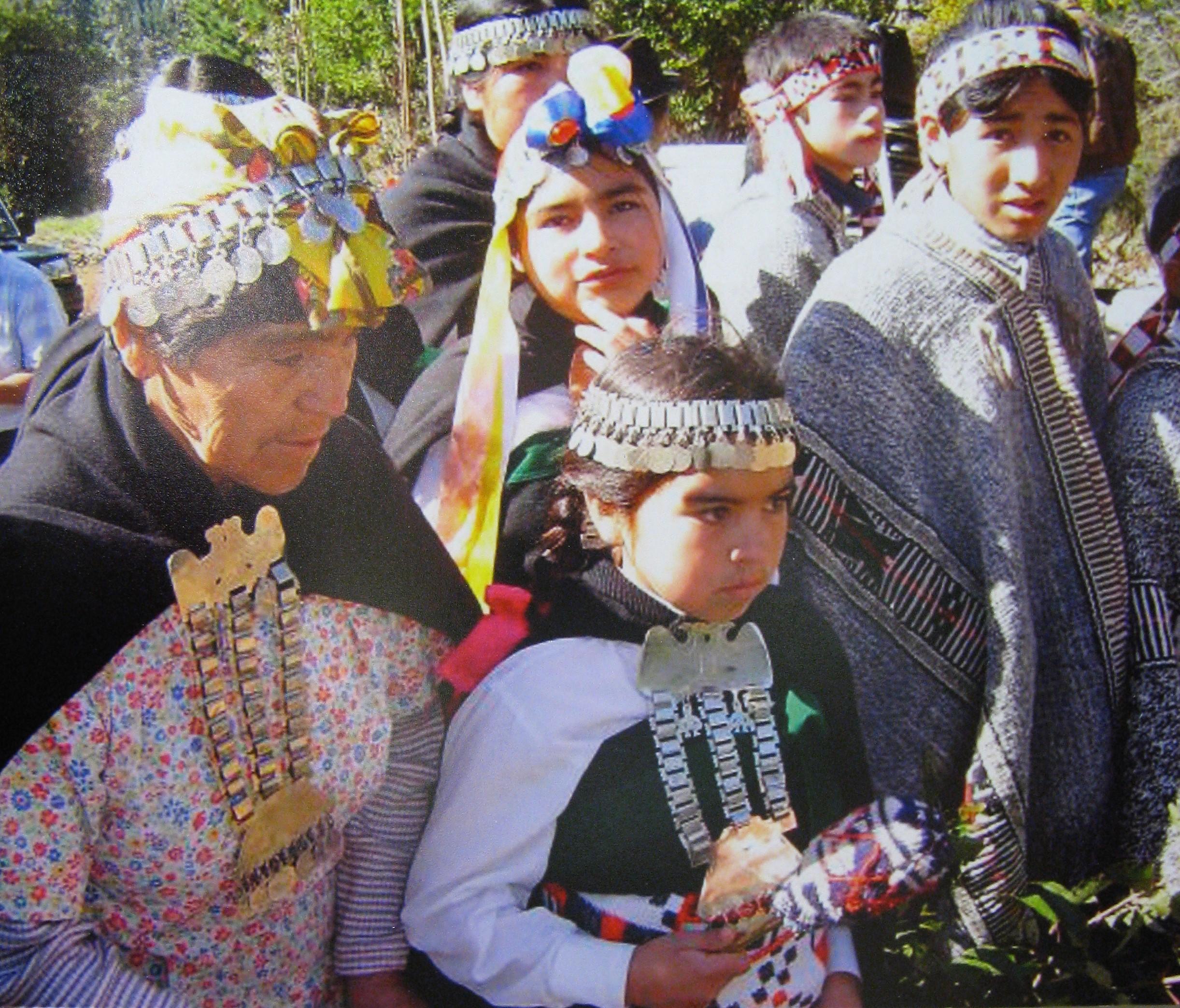 Mapuche traditional dress