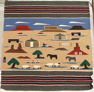 contemporary Navajo rug