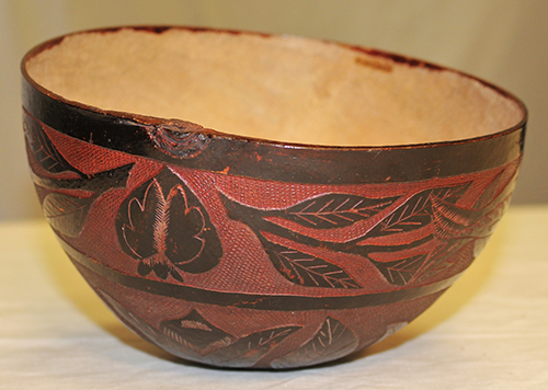 Maya gourd cup