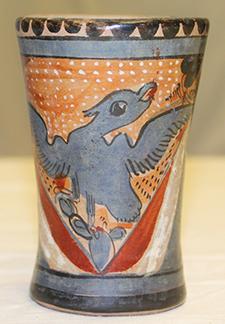 Maya ceramic cup