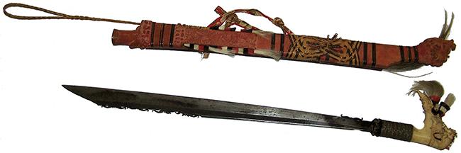 mandau sword