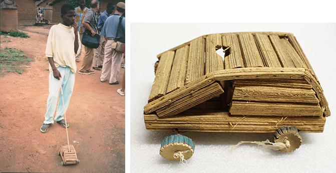 Cote d'Ivoire toy car