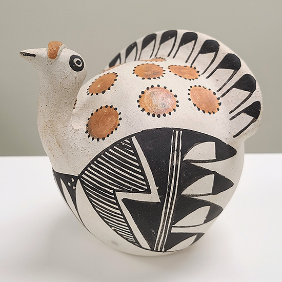 Acoma Ceramic Turkey