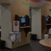 Image of Student Health Service lobby
