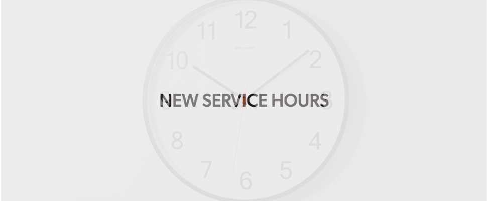 Image of clock with text