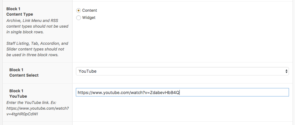 YouTube Content