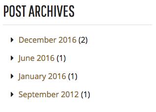 Post Archive