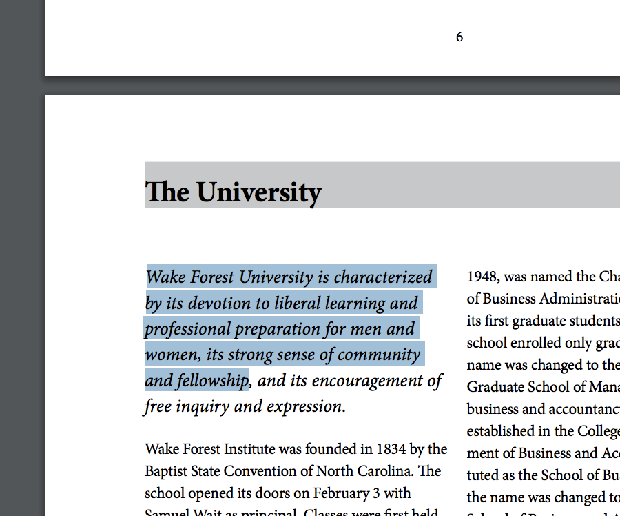 Scannable PDF example