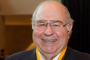 Life Trustee K. Wayne Smith ('60) wins the Medallion of Merit.