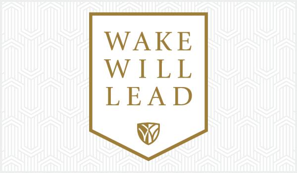 Wake Will Lead logo