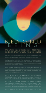 Beyond Being conference poster