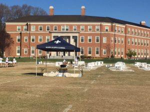 Student organizations prepare for the D.E.S.K. service project