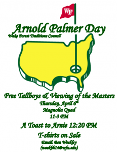 Arnold Palmer Day advertisement
