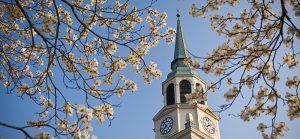 Wait Chapel in spring