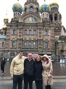 P'19 Knapp family in Russia