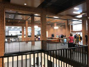 Lobby of Reynolds Gym