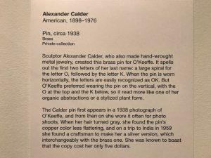 The story behind the Alexander Calder pin