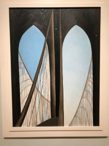 Georgia O'Keeffe - Brooklyn Bridge