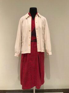 A 'bathrobe dress' of Georgia O'Keeffe's