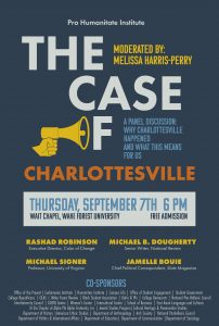 Panel discussion about Charlottesville