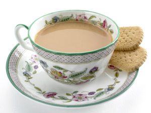 tea with cream