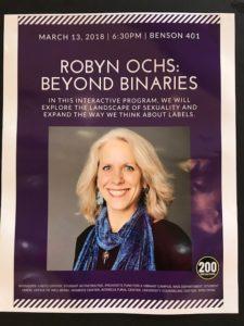 Speaker event poster
