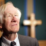 Ed Christman in Davis Chapel.