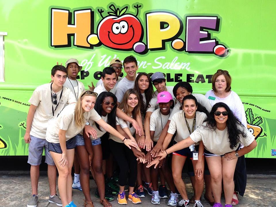 LENS-volunteering-HOPE-6July2014