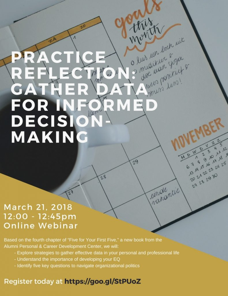 Practice Reflection WebEx - March 21, 2018 at 12 Noon