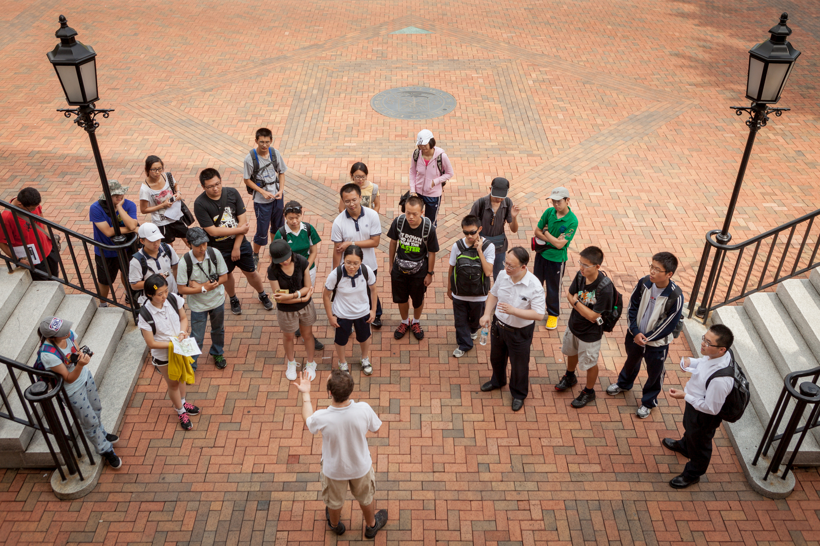 Student Tour, Mark Hoover, Office of Admissions