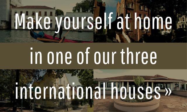 International Houses, Global Experience