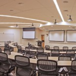 Tiered Classroom at WFU Charlotte Center